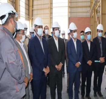 بهرهبرداری از فاز نخست واحد تولید آجر و جرمهای نسوز در شهرستان سربیشه